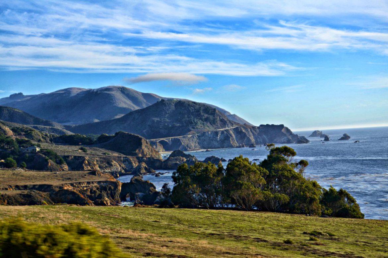California State Route, Kalifornia, USA, bele kaj, blog po śląsku