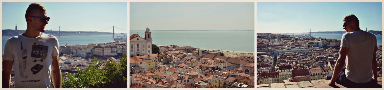 Alfama, Lizbona, Portugalia, bele kaj, blog po śląsku