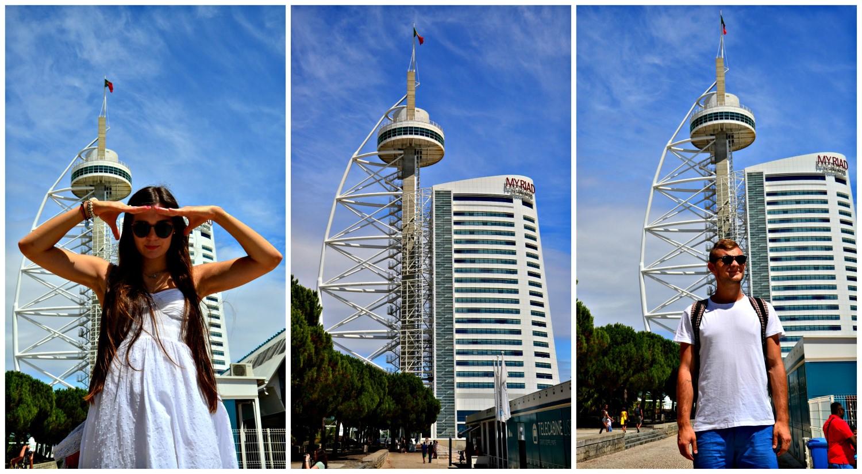 Parque das Nações, Lizbona, Portugalia, bele kaj, blog po śląsku
