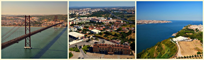 Almada, Portugalia, bele kaj, blog po śląsku