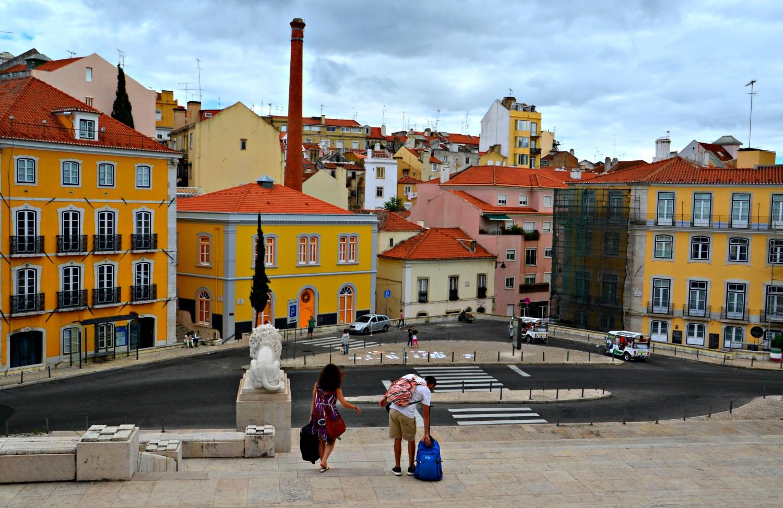 Lizbona, Portugalia, bele kaj, blog po śląsku