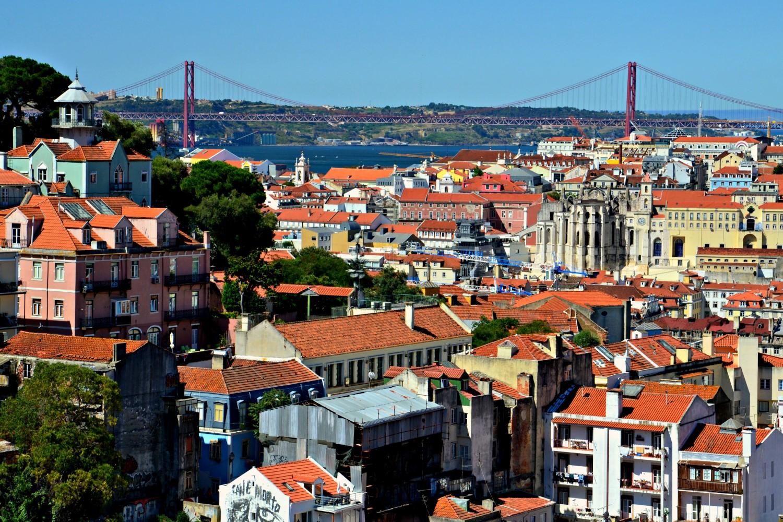 miradouros, Lizbona, Portugalia, bele kaj, blog po śląsku