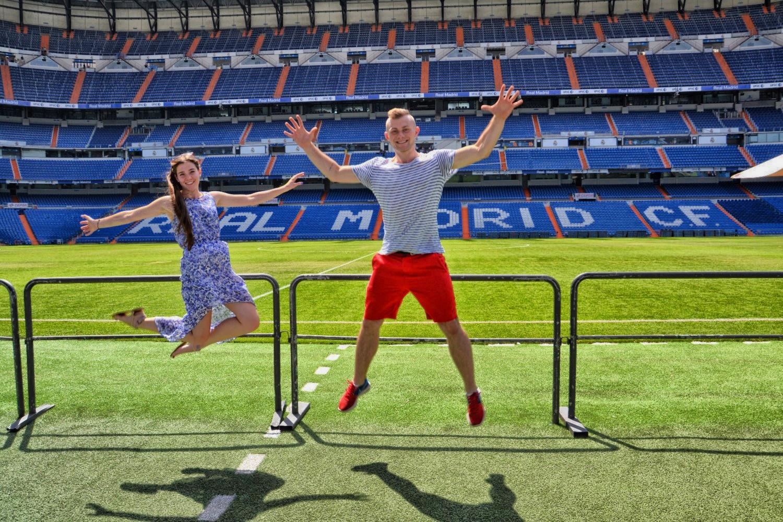 Estadio Santiago Bernabeu, Madryt, Hiszpania, bele kaj, blog po śląsku