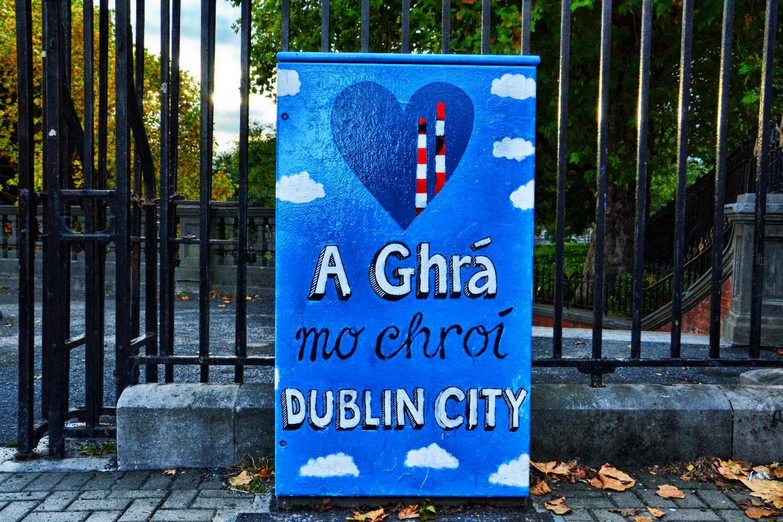 Dublin, Irlandia, bele kaj, blog po śląsku