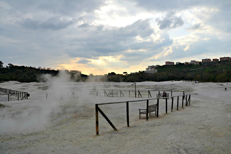 Solfatara di Pozzuoli, Neapol, Włochy, bele kaj, blog po śląsku