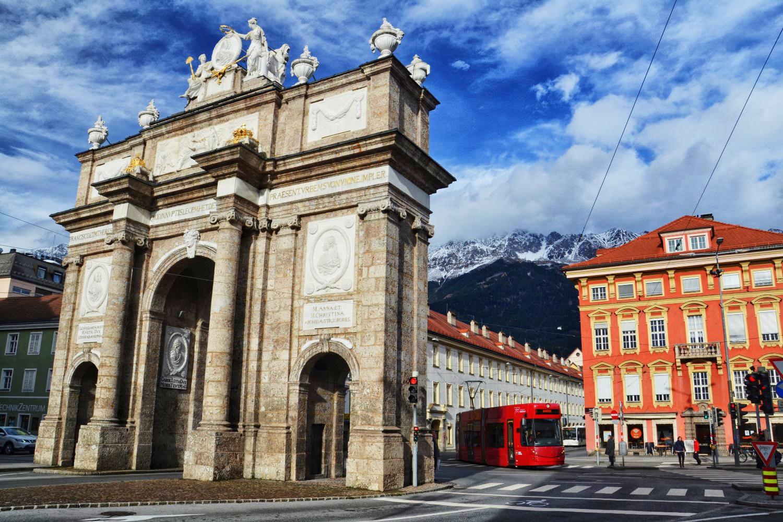 Innsbruck, Austria, bele kaj, blog po śląsku