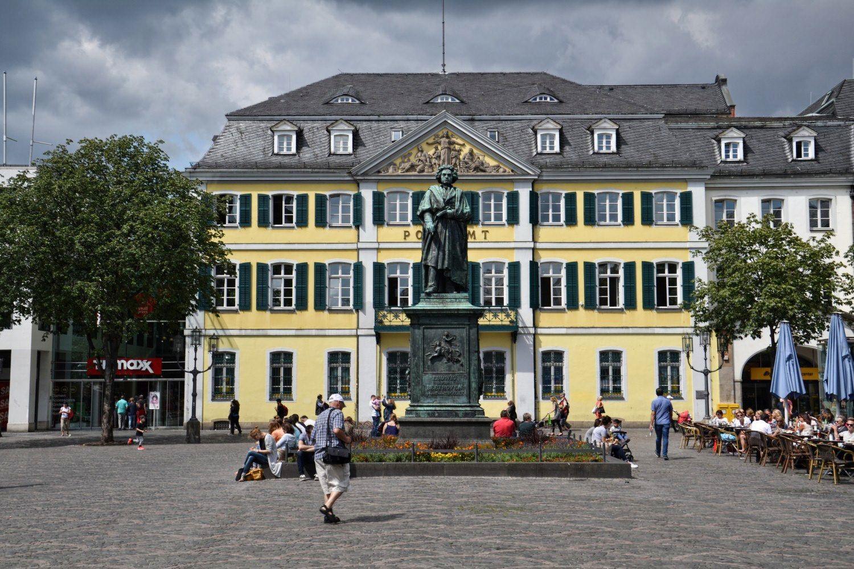 Bonn, Niemcy, bele kaj, blog po śląsku