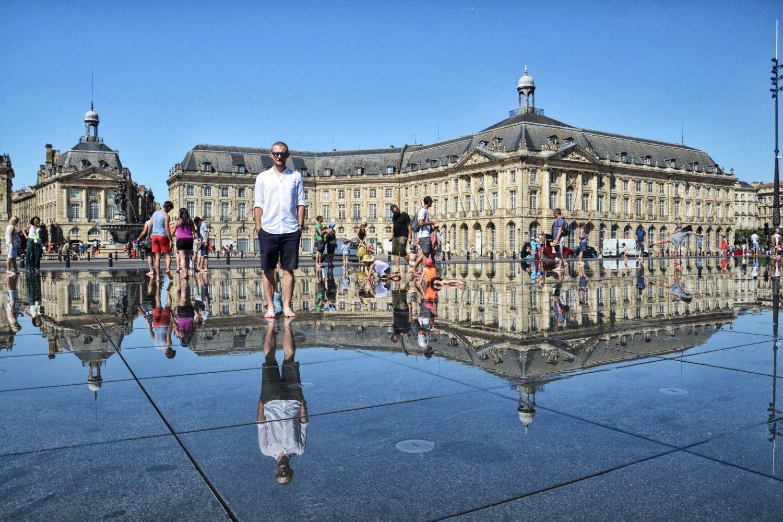 Bordeaux, Francja, bele kaj, blog po śląsku
