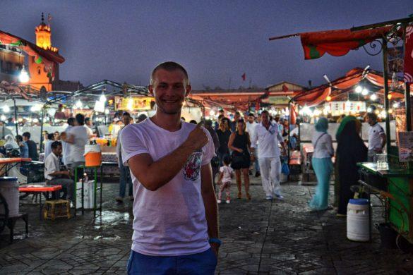 Jamaa el Fna, Marrakesz, Maroko - bele kaj, blog podróżniczy po śląsku
