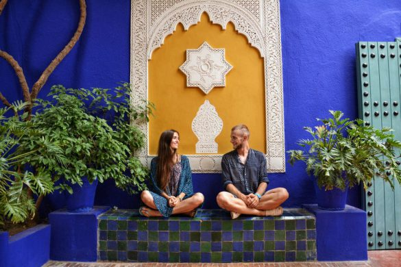 Jardin Majorelle, Marrakesz, Maroko - bele kaj, blog podróżniczy po śląsku