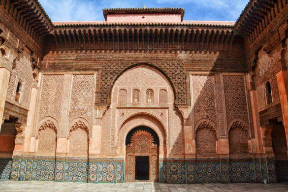 Medresa Alego ibn Jusufa, Marrakesz, Maroko - bele kaj, blog podróżniczy po śląsku