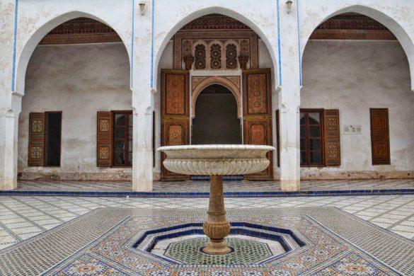 Pałac Bahia, Marrakesz, Maroko - bele kaj, blog podróżniczy po śląsku