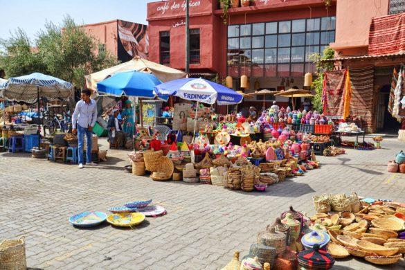 Suki (souki), Marrakesz, Maroko - bele kaj, blog podróżniczy po śląsku