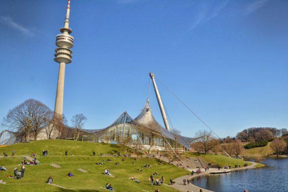 Olympiazentrum, Monachium, Niemcy - bele kaj, blog podróżniczy po śląsku