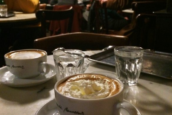 Café Hawelka, Wiedeń, Austria - bele kaj, blog podróżniczy po śląsku