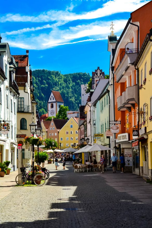Füssen, Neuschwanstein, Bawaria, Niemcy - bele kaj, blog podróżniczy po śląsku