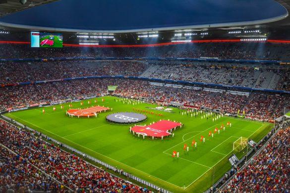 Allianz Arena, Bayern Monachium, Niemcy - bele kaj, blog podróżniczy po śląsku