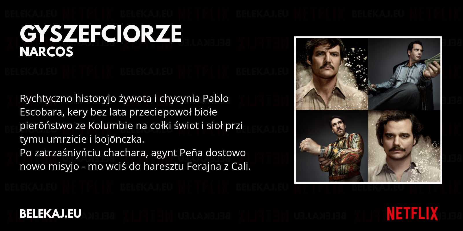 Narcos - Netflix po śląsku