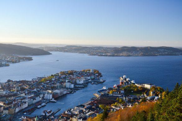 Bergen, Norwegia - bele kaj, blog podróżniczy po śląsku