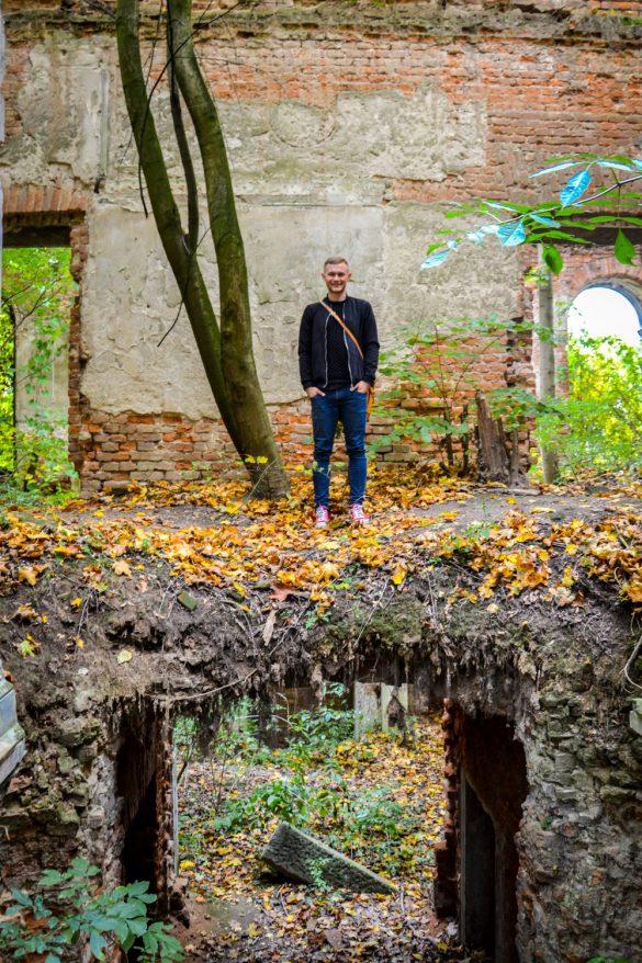 Pałac w Sławikowie, Rudnik, Śląsk - bele kaj, blog podróżniczy po śląsku