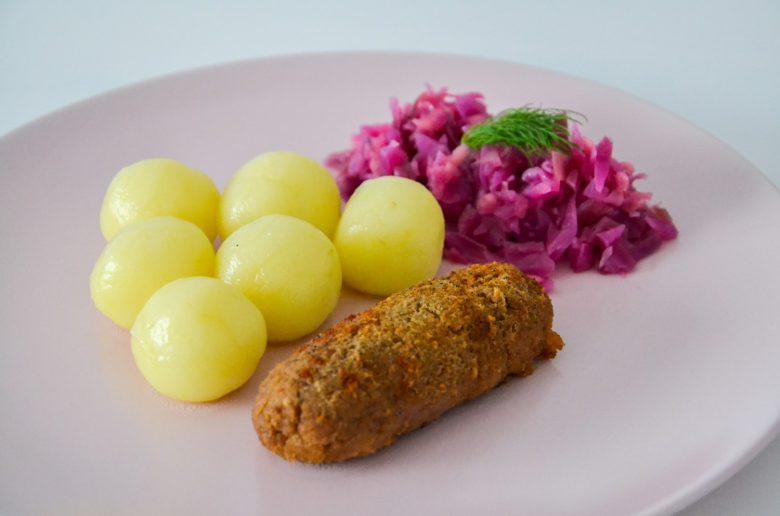 Wegański śląski obiad niedzielny - blog bele kaj po śląsku
