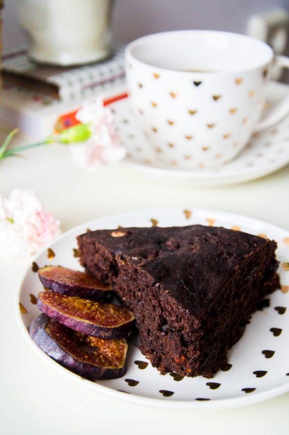 Wegańskie ciasto czekoladowe - bele kaj - blog po śląsku