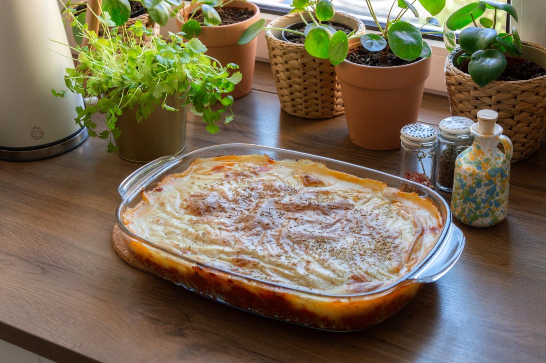 Wegański Sheperd's Pie - bele kaj - blog po śląsku