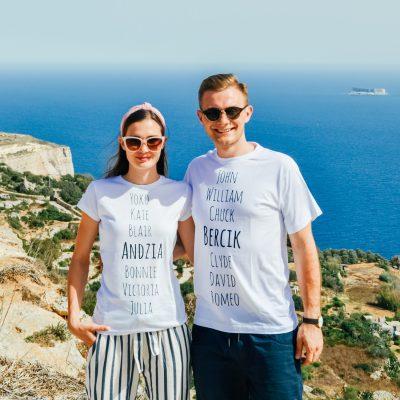 "Śląskie koszulki ""Andzia & Bercik"" - bele kaj - blog po śląsku"