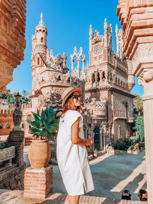 Castillo Colomares, Andaluzja, Hiszpania - bele kaj, blog podróżniczy po śląsku