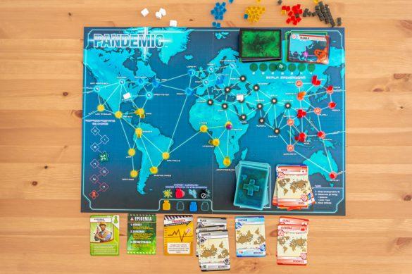 Ranking najlepszych gier planszowych - Pandemia - blog podróżniczy