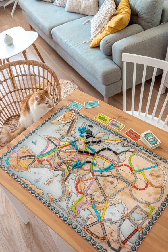 Ranking najlepszych gier planszowych - Wsiąść do pociągu - blog podróżniczy