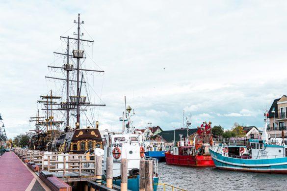 Łeba, Morze Bałtyckie, Polska - bele kaj - blog podróżniczy