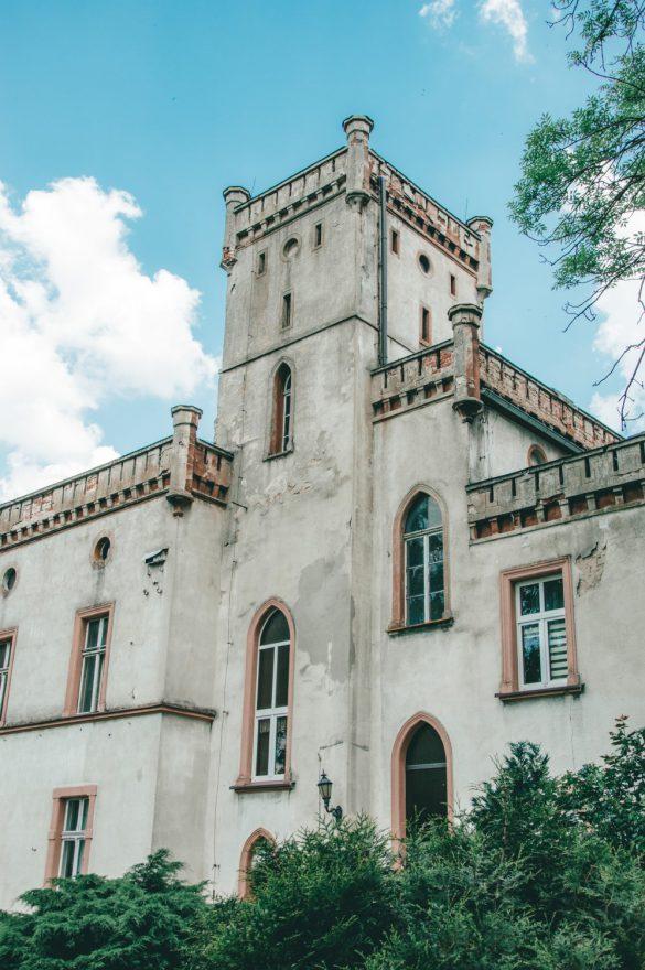 Zamek w Wilczy, Śląsk - bele kaj - blog podróżniczy