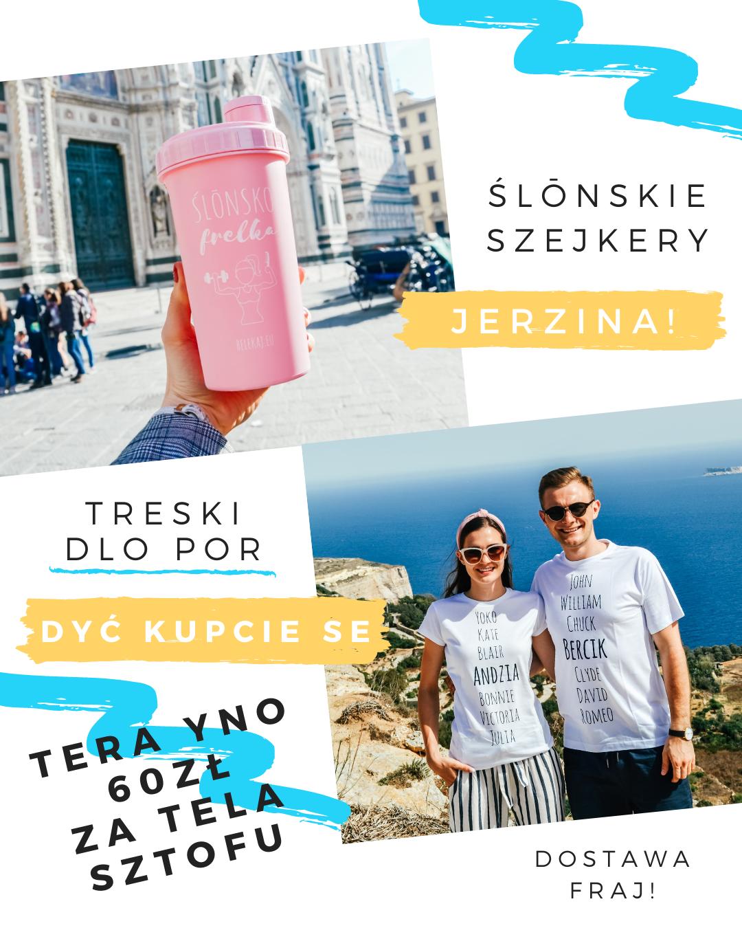 Śląskie gadżety - Śląski sklep online - bele kaj