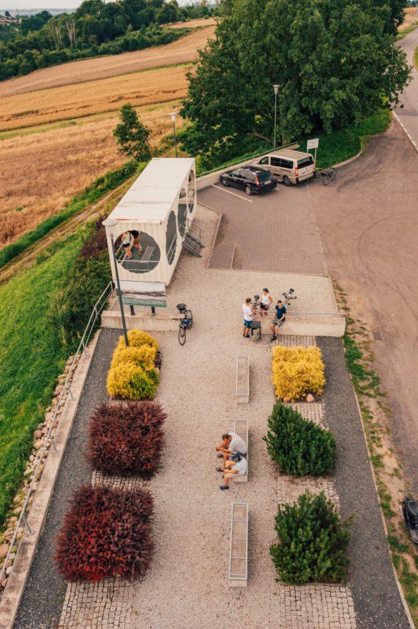Punkt widokowy na Bramę Morawską w Pogrzebieniu, Śląsk - belekaj.eu