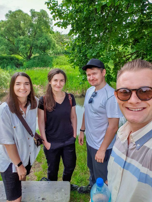 Spływ kajakowy meandrami Rudy - Śląsk - blog podróżniczy