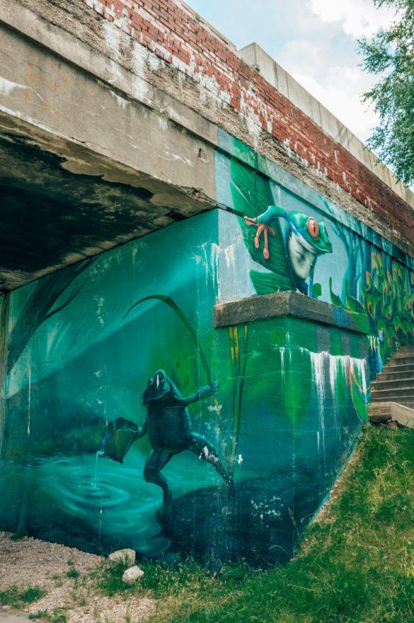 Żabie Doły, Śląsk - bele kaj - blog podróżniczy