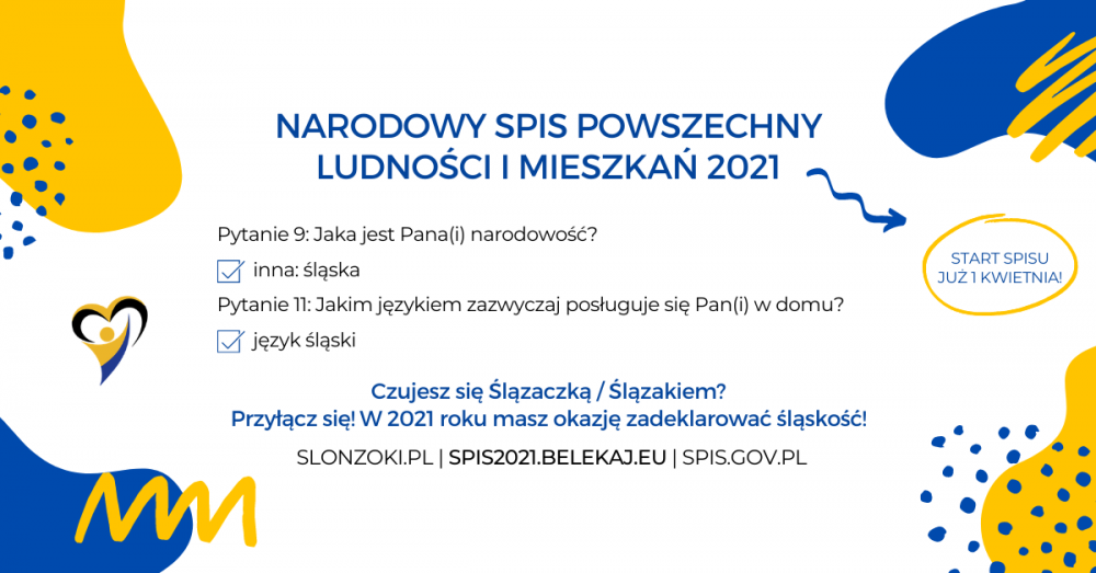 SPIS2021.BELEKAJ.EU - Narodowy Spis Powszechny 2021 - Narodowość Śląska